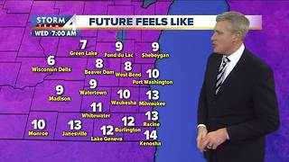 Wind chills in the single digits Wednesday morning - Video