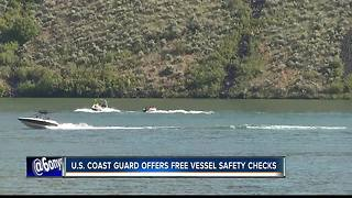 Free safety inspections for boaters Saturday - Video