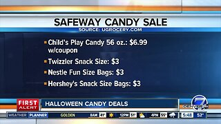 Halloween candy deals at King Soopers, Safeway and Target