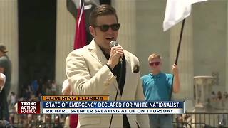 Gov. Scott: State of emergency declared in advance of white nationalist's speech at Univ. of Florida - Video