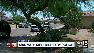 Officer-involved shooting investigation continues in Cave Creek - Video