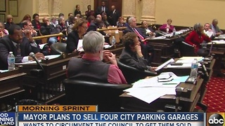 Baltimore mayor plans to sell four city-owned parking garages - Video