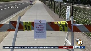 As anxiety increases, Encinitas residents plan to protest path closures