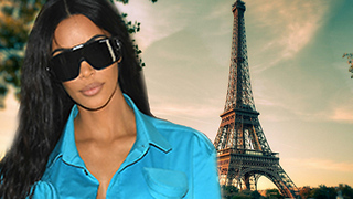 Kim Kardashian RETURNS To Paris After ROBBERY! - Video