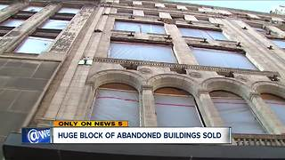 Block of abandoned downtown Cleveland buildings just sold - Video
