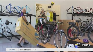 Bike shops boom during the pandemic