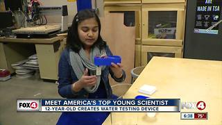 America's top young scientist is 12 years old - Video