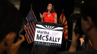 Martha McSally Tapped To Fill John McCain's Senate Seat