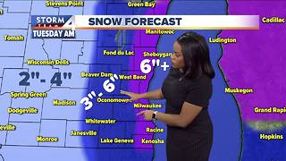 Elissia Wilson's Sunday evening Storm Team 4cast - Video