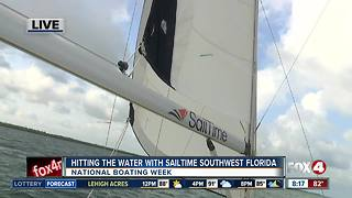 National Boating Week with SailTime Southwest Florida - Video