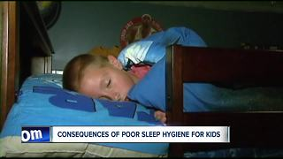 Experts: consequences of poor sleep hygiene for kids - Video
