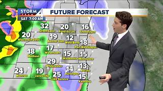 Wet and windy Easter weekend - Video