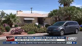 Short-term rental services must report to city of Las Vegas - Video