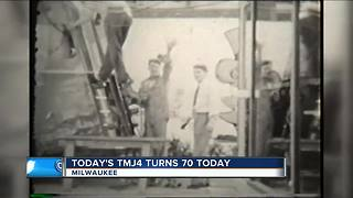 TODAY'S TMJ4 turns 70 today - Video