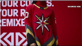 Vegas Golden Knights unveil red retro jersey