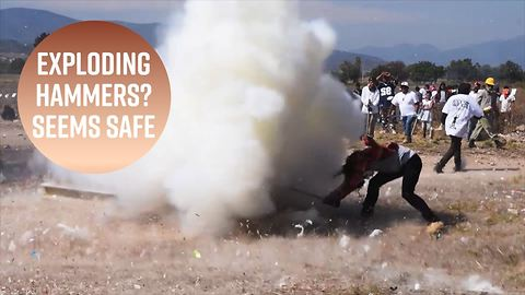 Mexico's Hammer Festival is literally explosive