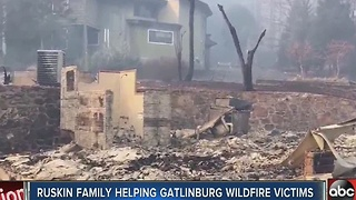 Ruskin family helping Gatlinburg wildfire victims - Video