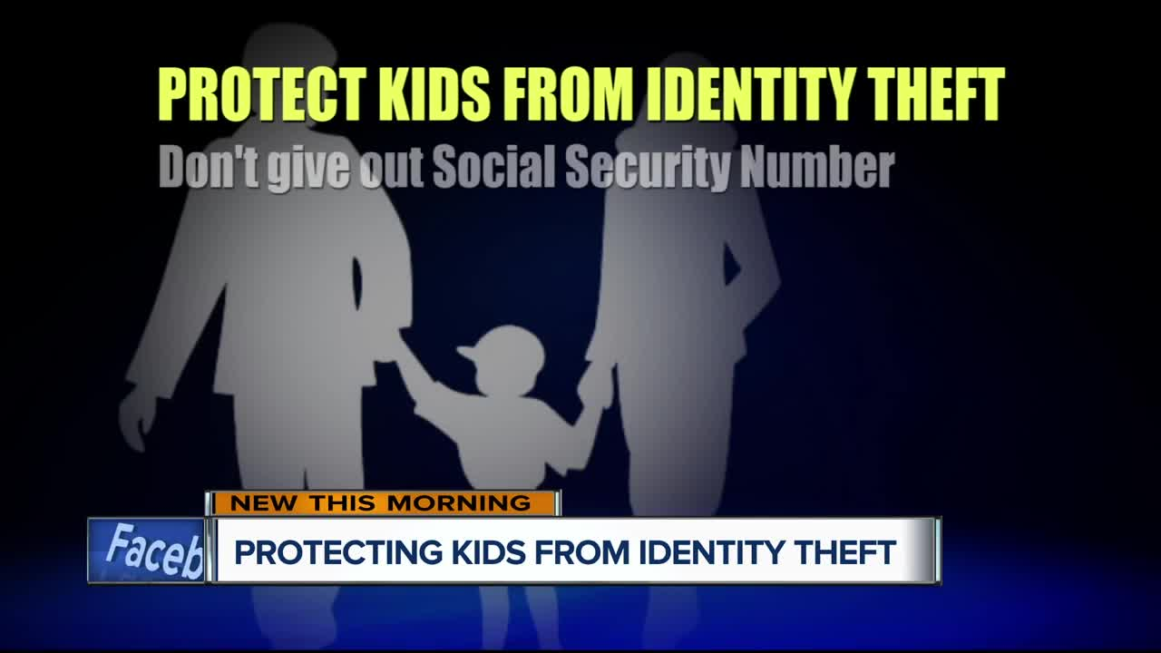 How to protect kids from identity theft