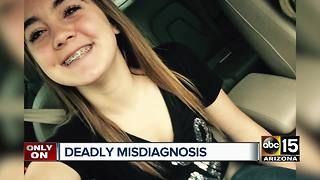 Valley mom says late daughter's illness misdiagnosed by doctors - Video