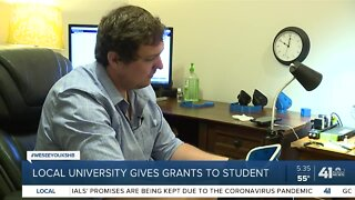 Local university gives grants to student