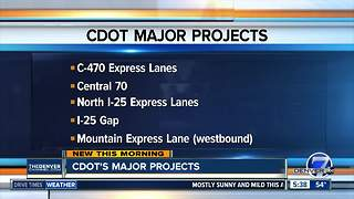 CDOT working on several major projects