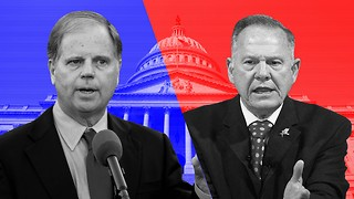 Roy Moore and Doug Jones Compete for Senate Seat - Video