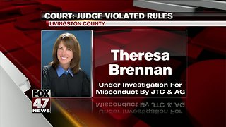 Judge violated judicial rules