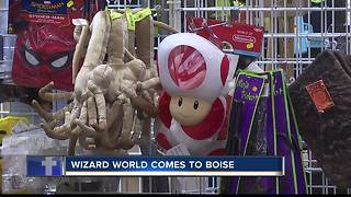 Wizard World Comic Con comes to Boise Friday through Sunday - Video