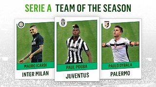 Serie A Team of the Season 2014-2015 - Video