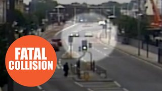 Driver jailed for killing a pedestrian in a horror smash - Video