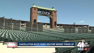 Weekend concerts cancelled due to severe weather - Video