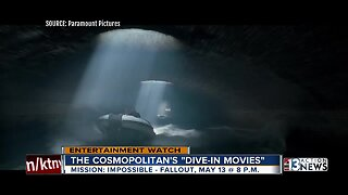 Film critic Josh Bell previews Cosmopolitan's Dive-in Movies and Robin Greenspun's documentary