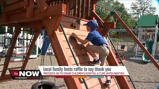 Win a playground! One little boy's special way to say thank you - Video