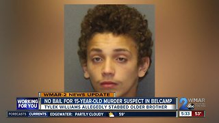 No bail for 15-year-old murder suspect in Belcamp