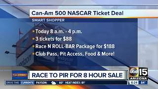Start your engines! 8-hour NASCAR ticket deal - Video