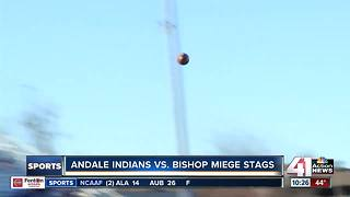 Bishop Miege football wins fourth-straight title - Video