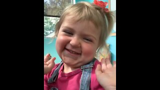 Baby giggles are the best