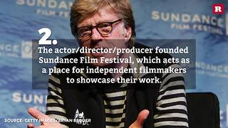 5 facts about Robert Redford | Rare People - Video