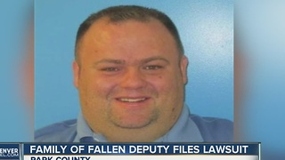 Family of fallen deputy files lawsuit - Video