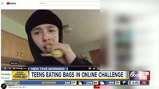 Doctors warning kids and parents about dangers of viral 'Shell On' food challenge
