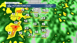 Chilly tonight with a high of 28, cold weather continues through the weekend