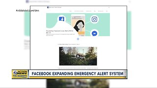 Facebook rolling out emergency alerts