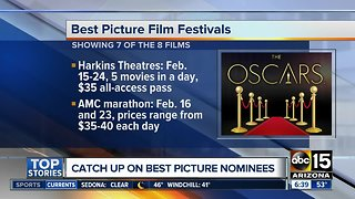 Catch up on movies nominated for Best Picture