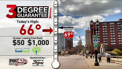 Hitting $1000 Raised With the 3 Degree Guarantee