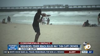 Neighbors: Fewer beach rules may thin cliff crowds