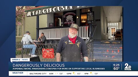"""Dangerously Delicious says """"We're Open Baltimore!"""""""