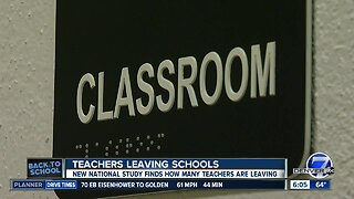 Back to school: Why Colorado teachers leave their schools