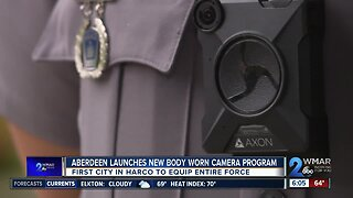 Aberdeen Police launch body worn camera program