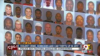 Violent crime, homicides and car thefts up in 2017 - Video