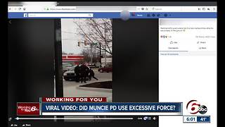 Video shows arrest by Muncie police officers accused of using excessive force - Video